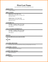 Resumes For Senior Citizens Job Resume Examples For Highschool Students Resume Example And