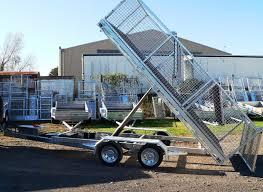 hydraulic tipping trailer prescott trailers