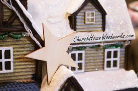 star ornaments christmas diy craft projects christmas village