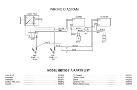 snap on model eecs301a parts list wiring diagram schematic
