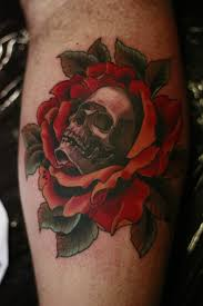 skull and rose tattoo designs for men pictures to pin on pinterest