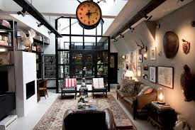 Interior Design Categories by Modern Industrial Style Interior Design