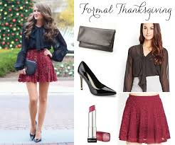 look festive and fashionable with these thanksgiving ideas