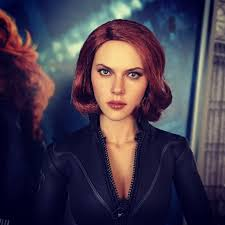 a new hairstyle miss romanoff got a new hairstyle toys avengers bla u2026 flickr