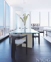 shop the look of a minimalist high rise in one57 new york