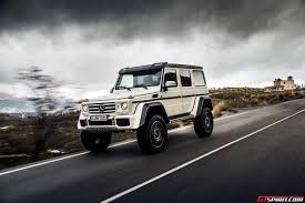 mercedes g class interior 2016 exclusive mercedes benz g500 4x4 review gtspirit