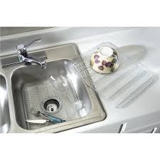 Rubbermaid Kitchen Sink Accessories Rubbermaid Sink Mat Protector Fg129506clr Do It Best