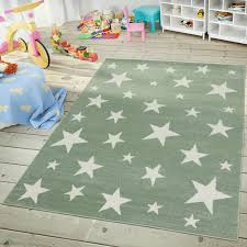 jugendzimmer teppich kinder jugendzimmer teppich im sternhimmel design pastell trend