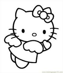 kitty coloring pages color pages kitty