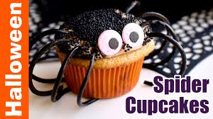 Spider Cakes For Halloween How To Make Chocolate Caramel Spider Cupcakes Halloween Baking