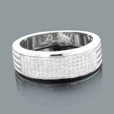 silver diamond rings silver wedding bands mens diamond ring 0 23ct