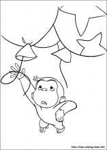 curious george coloring pages on coloring book info