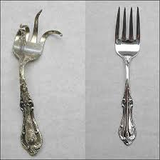 silver flatware repair disposal damaged silver knife blade