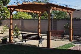 Home Depot Pergola by 10 Ft X 12 Ft Wood Pergola Pa1012 At The Home Depot Mobile