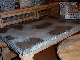 Zinc Table Top Galvanized Iron Table Top Full Size Of Kitchenmetal Table Top