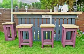 Patio Furniture Pallets by Diy Pallets Garden Bar Home Design Garden U0026 Architecture Blog