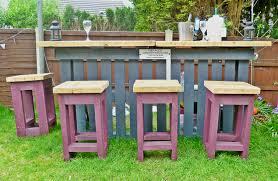 Outdoor Pallet Furniture Diy Pallets Garden Bar Home Design Garden U0026 Architecture Blog