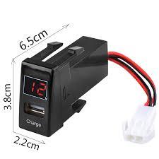 Usb Port Car Charger Hq Universal Micro Diy 2 1a Usb Port Car Charger Refit Kit With