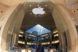 Apple Store Paris Apple Store At Musée Du Louvre Metroscenes Com Paris France
