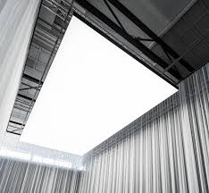 Led Ceiling Light Panels Philips Re Invents Ceiling Lighting With A Sound Absorbing Led