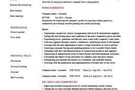 Sample Buyer Resume by Buyer Duties Resume