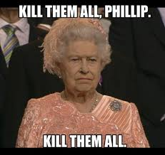 Queen Of England Meme - one is not amused know your meme