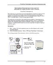 promochrom technologies applications of our spe equipment