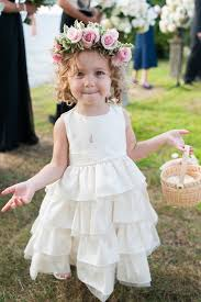 flower girl wedding flower girl hairstyles popsugar