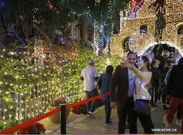 festival of lights riverside 2017 25th festival of lights held in riverside u s xinhua english