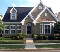 curb appeal for ranch style house exterior paint color