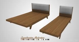 Scandinavian Bed Frames Josef And Scandinavian Bed Frames At Onyx Sims Sims 4 Updates