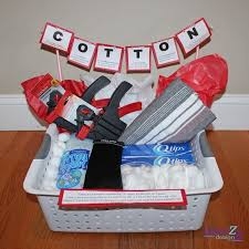second wedding anniversary gift ideas for cotton anniversary gift basket for him plus several more gift