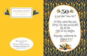funny birthday card welcome to gravity katmariacastudio