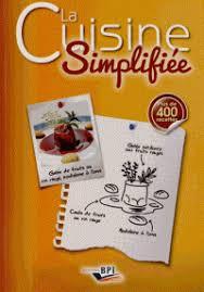 livre de cuisine cap la cuisine simplifiée du cap au bts et gilles charles