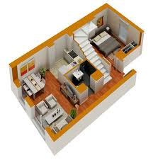 small home floor plans sensational 2 3d small home designs tiny house floor plans home array