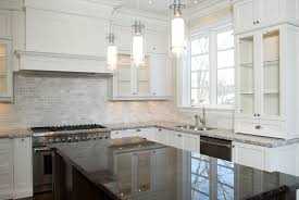 Backsplash Ceramic Tiles For Kitchen White Ceramic Tile Kitchen Backsplash Home Improvement Design