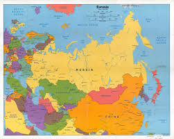 Russia Map Maps Of Europe And European Countries Political Maps