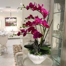 Fake Orchids Buy Big Artificial Flowers Orchid Arrangements Decorative Flower