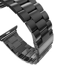 black link bracelet images Stainless steel watch band for iwatch apple watch band series 1 2 jpg