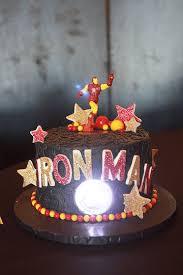 12 best iron man cakes images on pinterest birthday party ideas
