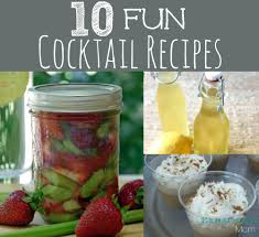 10 fun cocktail recipes the exhausted mom