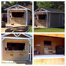 our new bar shed time for a party building a shed pinterest this is our custom made party bar shed it s 10x12 with two doors door