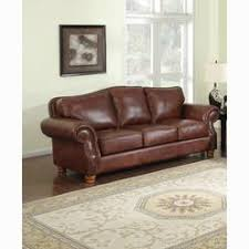 Distressed Leather Loveseat Brandon Distressed Whiskey Italian Leather Sofa Loveseat And Chair