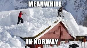 Shoveling Snow Meme - snowy norway meme on imgur