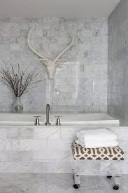 Carrara Marble Bathroom Designs by Cool Marble Bathroom Tile Ideas Bathroom Penaime