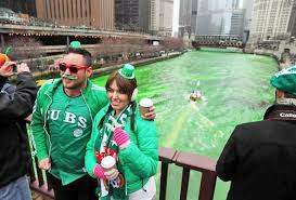 why does chicago dye the river green for st patrick u0027s day