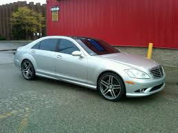 2008 mercedes s550 amg mercedes s550 with amg package on 20 staggered wheelrep 02s