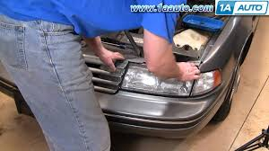 how to install replace headlights chevy lumina 90 94 1aauto com