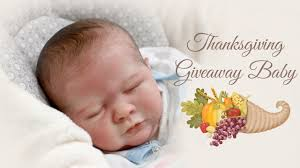 giveaway thanksgiving baby reminder