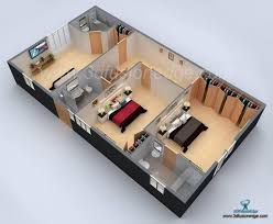 architectural 3d floor plan rendering services 3dfusionedge